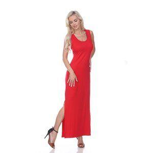 Cameron' Maxi Dress 303-09 Red